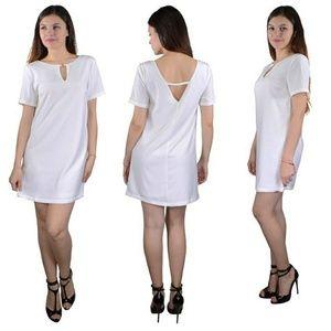 Fabulously chic white dress CLEARANCE